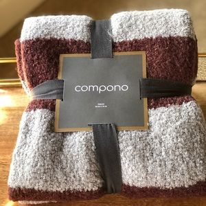 J Crew Compono NWT Boucle' Throw Blanket
